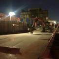 Photos: 桃花台線の桃花台東駅解体撤去工事(2020年2月27日) - 13:瓦礫もほとんど撤去
