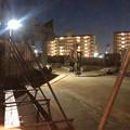 Photos: 桃花台線の桃花台東駅解体撤去工事(2020年2月27日) - 14:瓦礫もほとんど撤去