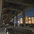 Photos: 桃花台線の桃花台東駅解体撤去工事(2020年2月27日) - 15:ますます古代遺跡の様に