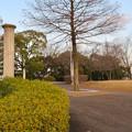 Photos: 落合公園の古代ギリシャ建築風の柱 - 1