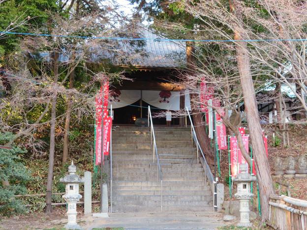 慈眼寺 - 34:本堂への階段