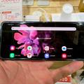 Photos: Galaxy Z Flip No - 12:オープン時(横長持ち)