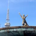 久屋大通公園:噴水の上の女性の裸像 - 2
