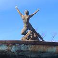 久屋大通公園:噴水の上の女性の裸像 - 4