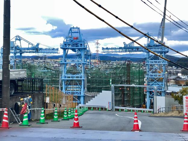 建設中のリニア中央新幹線の非常口(2020年3月11日) - 1