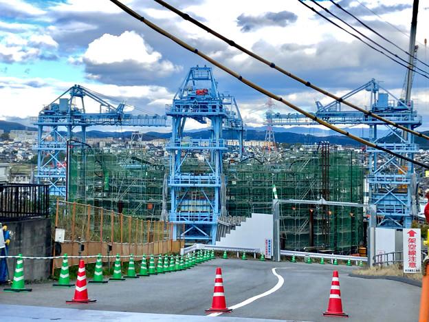建設中のリニア中央新幹線の非常口(2020年3月11日) - 2