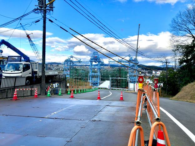 建設中のリニア中央新幹線の非常口(2020年3月11日) - 3
