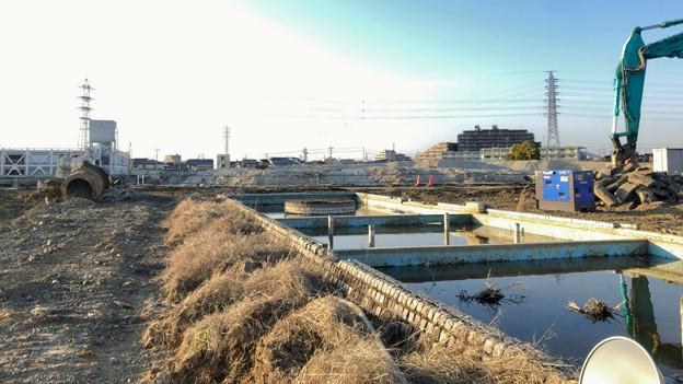 解体工事中(?)のザ・モール春日井(2020年3月13日) - 2