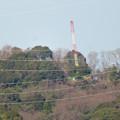 遠くから見たリニア中央線のための送電線鉄塔工事現場 - 13