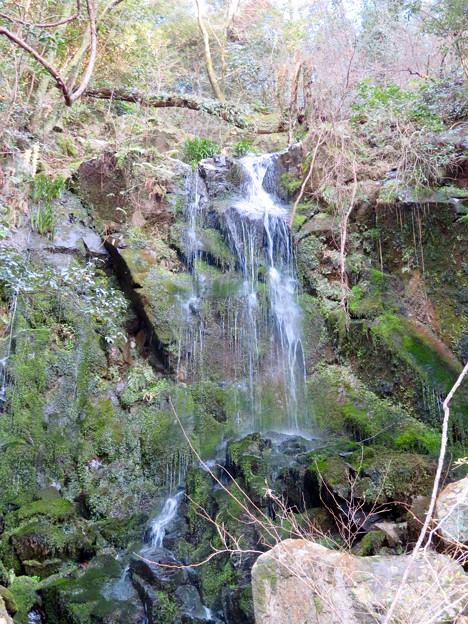 庄内川沿いにある恵幸の滝 - 2