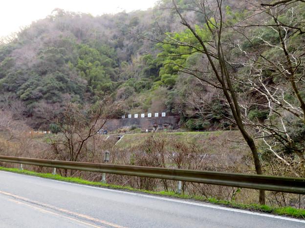 県道15号名古屋多治見線沿いから見た愛岐トンネル群 - 1