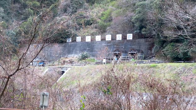 県道15号名古屋多治見線沿いから見た愛岐トンネル群 - 2