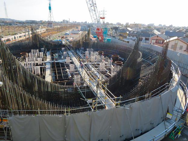 Photos: 建設中のリニア中央新幹線 神領非常口(2020年3月23日) - 1