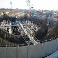 建設中のリニア中央新幹線 神領非常口(2020年3月23日) - 1