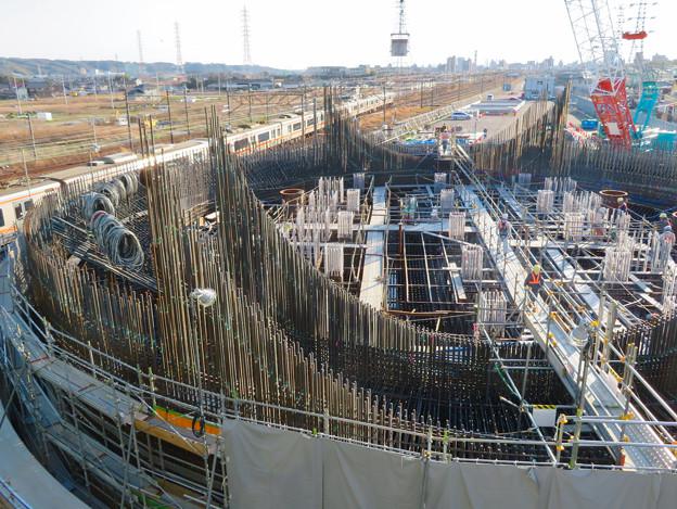 Photos: 建設中のリニア中央新幹線 神領非常口(2020年3月23日) - 2