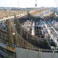 建設中のリニア中央新幹線 神領非常口(2020年3月23日) - 2