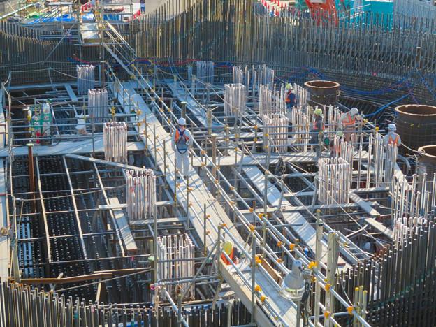 建設中のリニア中央新幹線 神領非常口(2020年3月23日) - 3