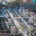 Photos: 建設中のリニア中央新幹線 神領非常口(2020年3月23日) - 3