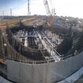 Photos: 建設中のリニア中央新幹線 神領非常口(2020年3月23日) - 4:パノラマ