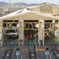 神領車両区 - 9:修繕ドックと見られる建物