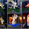 万松寺のカラフルに色づく白龍 - 1