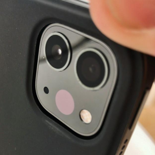 iPad Pro 2020年モデル - 5:LiDARスキャナと背面カメラ