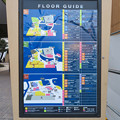 Photos: リニューアル中?のアスナス金山 - 4:新たに設置されたフロアガイド