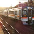坂祝駅 - 17:停車する多治見行きの電車
