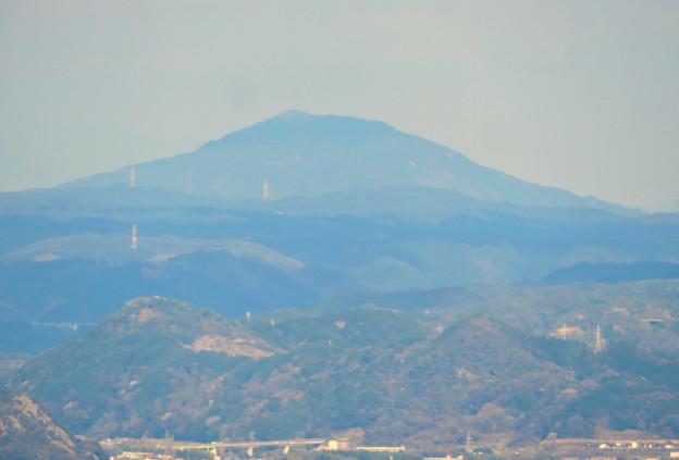 猿啄城展望台の登山道から見た景色 - 10:御嶽山