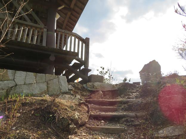 猿啄城展望台 - 1:山頂に到着!