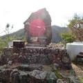 Photos: 猿啄城展望台 - 2:山頂にある石碑