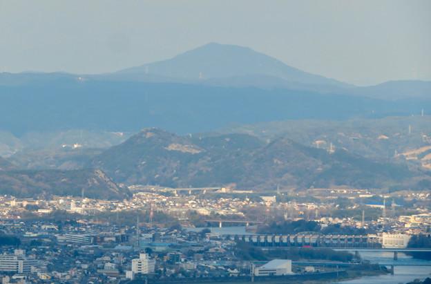 Photos: 猿啄城展望台から見た景色 - 3:御嶽山