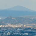 猿啄城展望台から見た景色 - 3:御嶽山