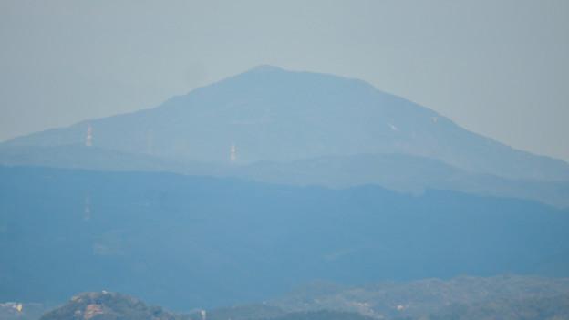 猿啄城展望台から見た景色 - 4:御嶽山