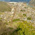 猿啄城展望台から見た景色 - 6:坂祝町内南部