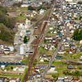 Photos: 猿啄城展望台から見た景色 - 7:JR高山本線
