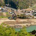猿啄城展望台から見た景色 - 9:犬山市内(大泉寺付近)