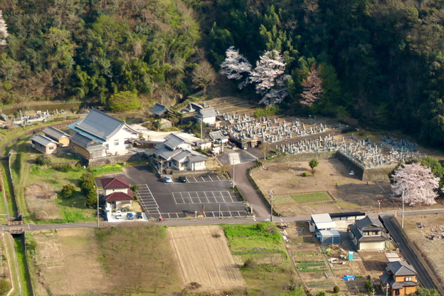 猿啄城展望台から見た景色 - 10:大泉寺