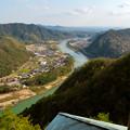 Photos: 猿啄城展望台から見た景色 - 12:木曽川