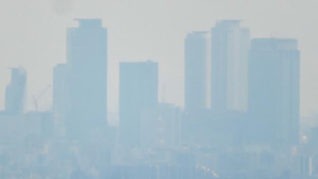 猿啄城展望台から見た景色 - 18:名駅ビル群