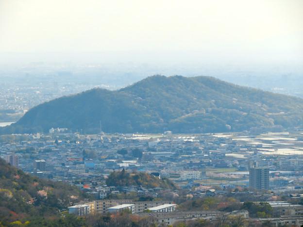 猿啄城展望台から見た景色 - 19:伊木山