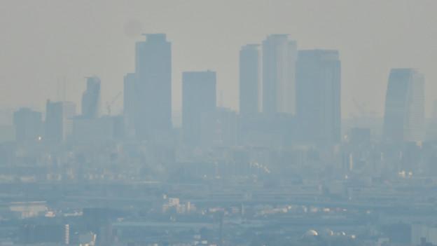 猿啄城展望台から見た景色 - 35:名駅ビル群