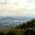 Photos: 猿啄城展望台から見た景色 - 38:伊木山と遠くに伊吹山
