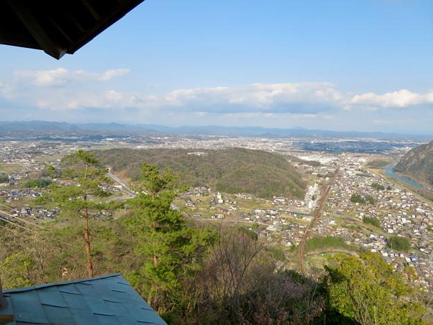 猿啄城展望台から見た景色 - 39:坂祝町