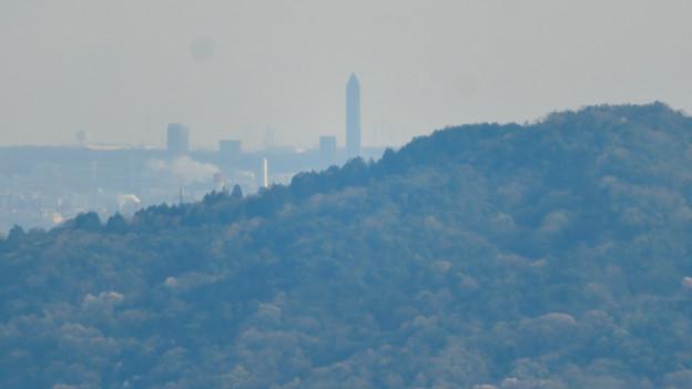 Photos: 猿啄城展望台から見た景色 - 47:東山スカイタワー