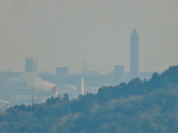 猿啄城展望台から見た景色 - 48:東山スカイタワー