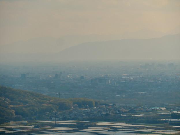 猿啄城展望台から見た景色 - 52:伊吹山