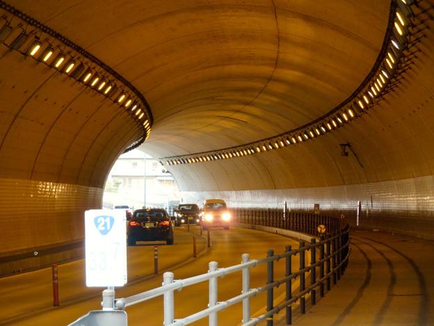 国道21号の坂祝パイパスのトンネル - 4:勝山トンネル