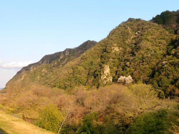 坂祝町:木曽川沿いから見た犬山市北部の山々 - 1