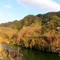 Photos: 坂祝町:木曽川沿いから見た犬山市北部の山々 - 2